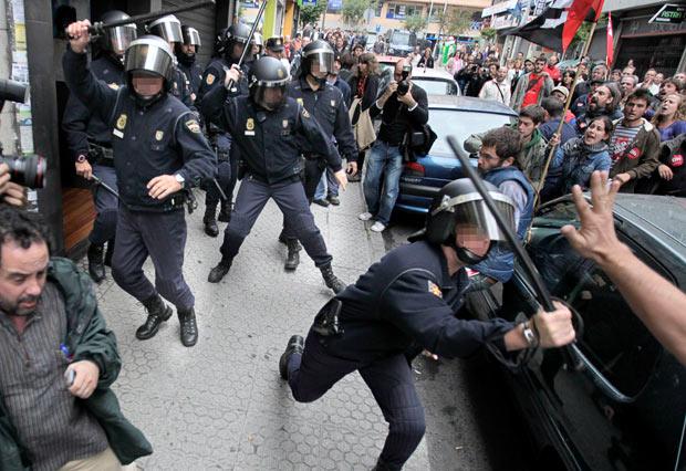 Grève en cours pour l'Espagne