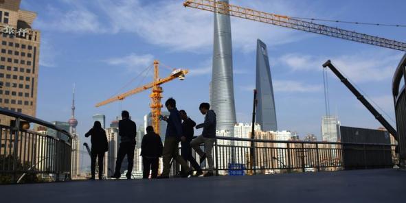 Les bourses chinoises sont à la baisse