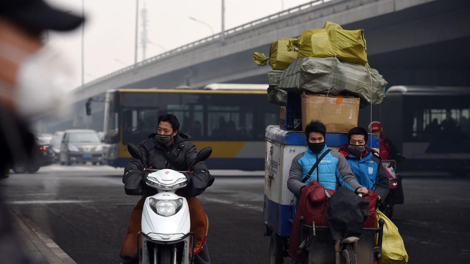 Pollution : un Noël irrespirable à Pékin