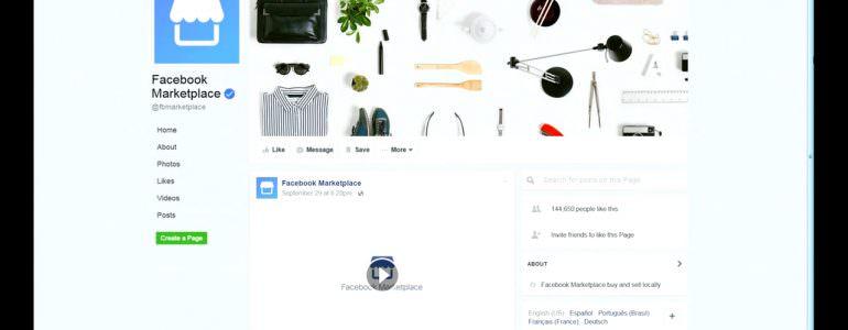 france marketplace de facebook entre en concurrence avec le bon coin. Black Bedroom Furniture Sets. Home Design Ideas