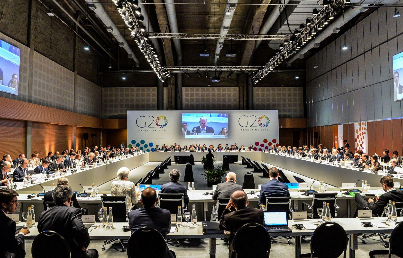 Les crypto-monnaies s'invitent à la réunion du G20 à Buenos Aires