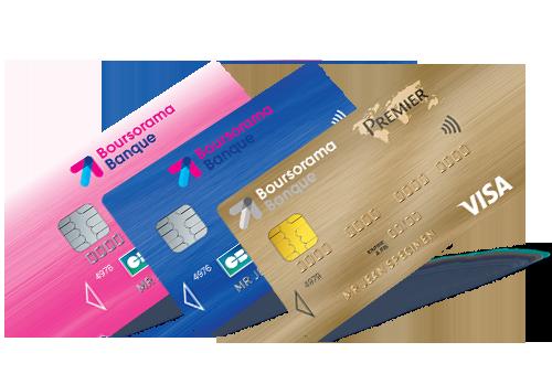 Cartes de crédit Boursorama Banque