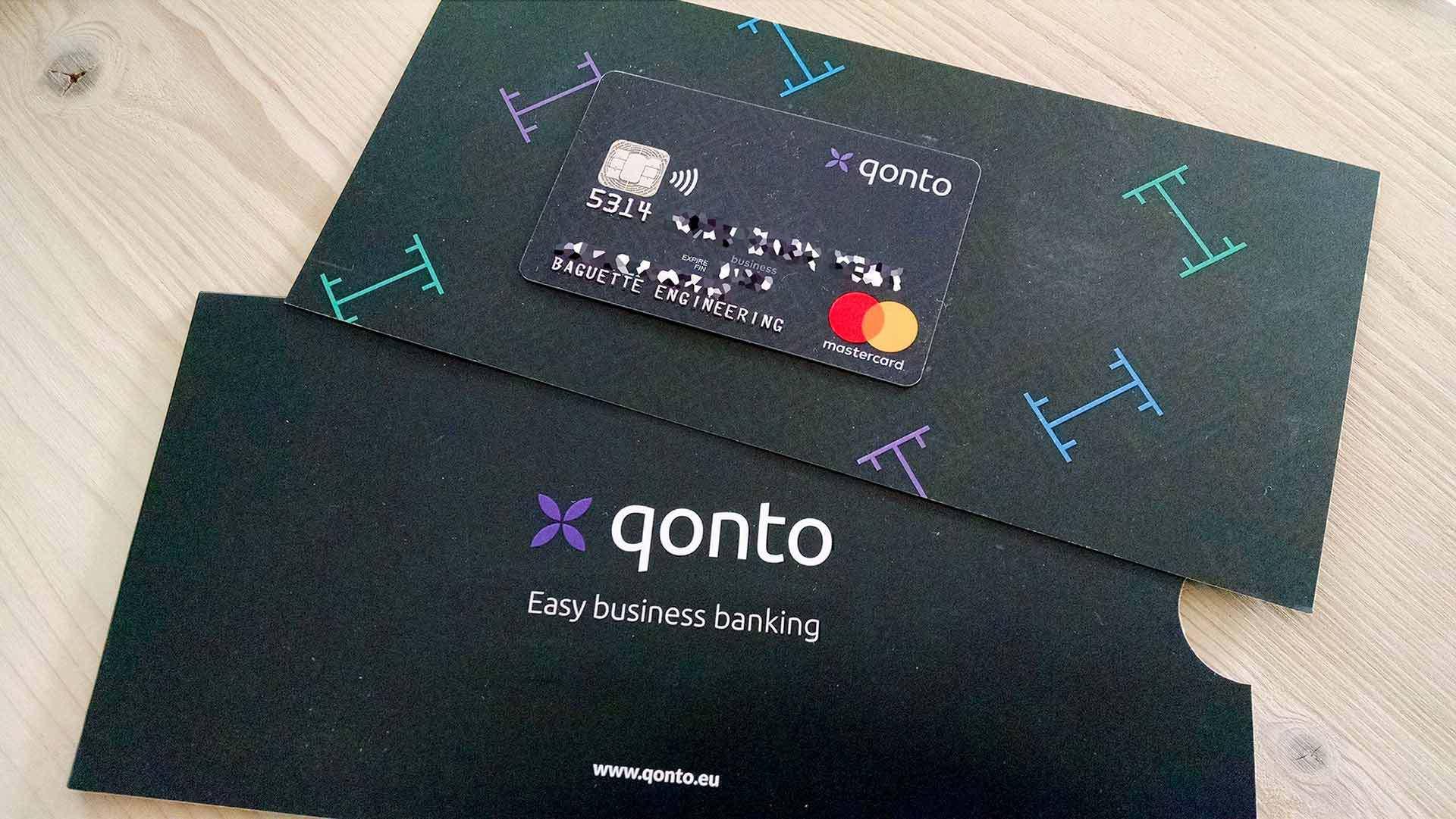 Qonto, la néobanque française de tous les entrepreneurs
