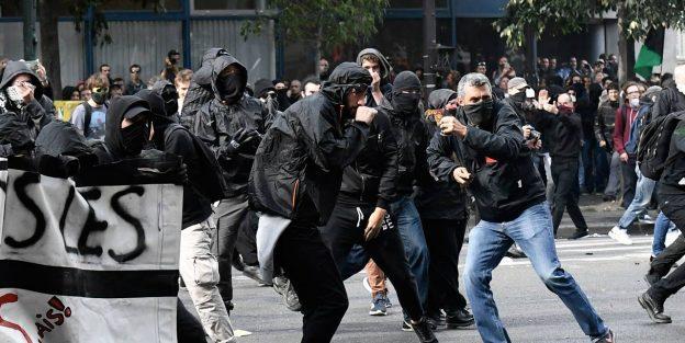 Chaos dans le centre de Paris