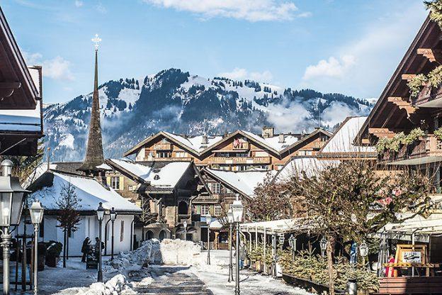 Gstaad en Suisse
