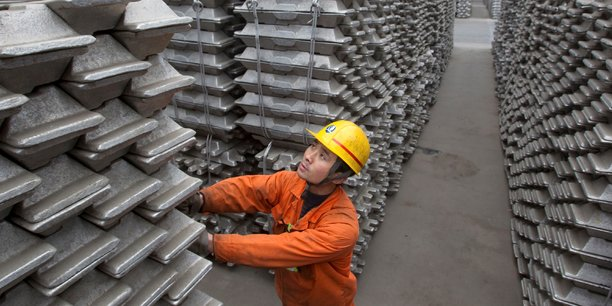 Baisse de l'excédent d'aluminium en Chine